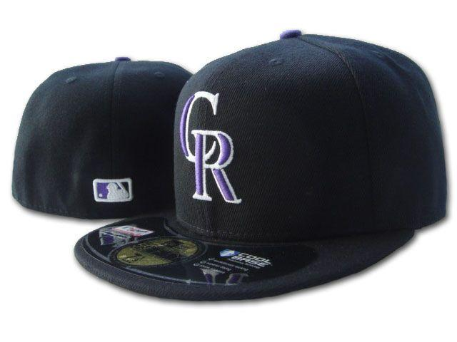 2020 HOT Team Fitted Hats Rockies Baseball hats Embroidered CR letter logo Full Closed Caps Unisex