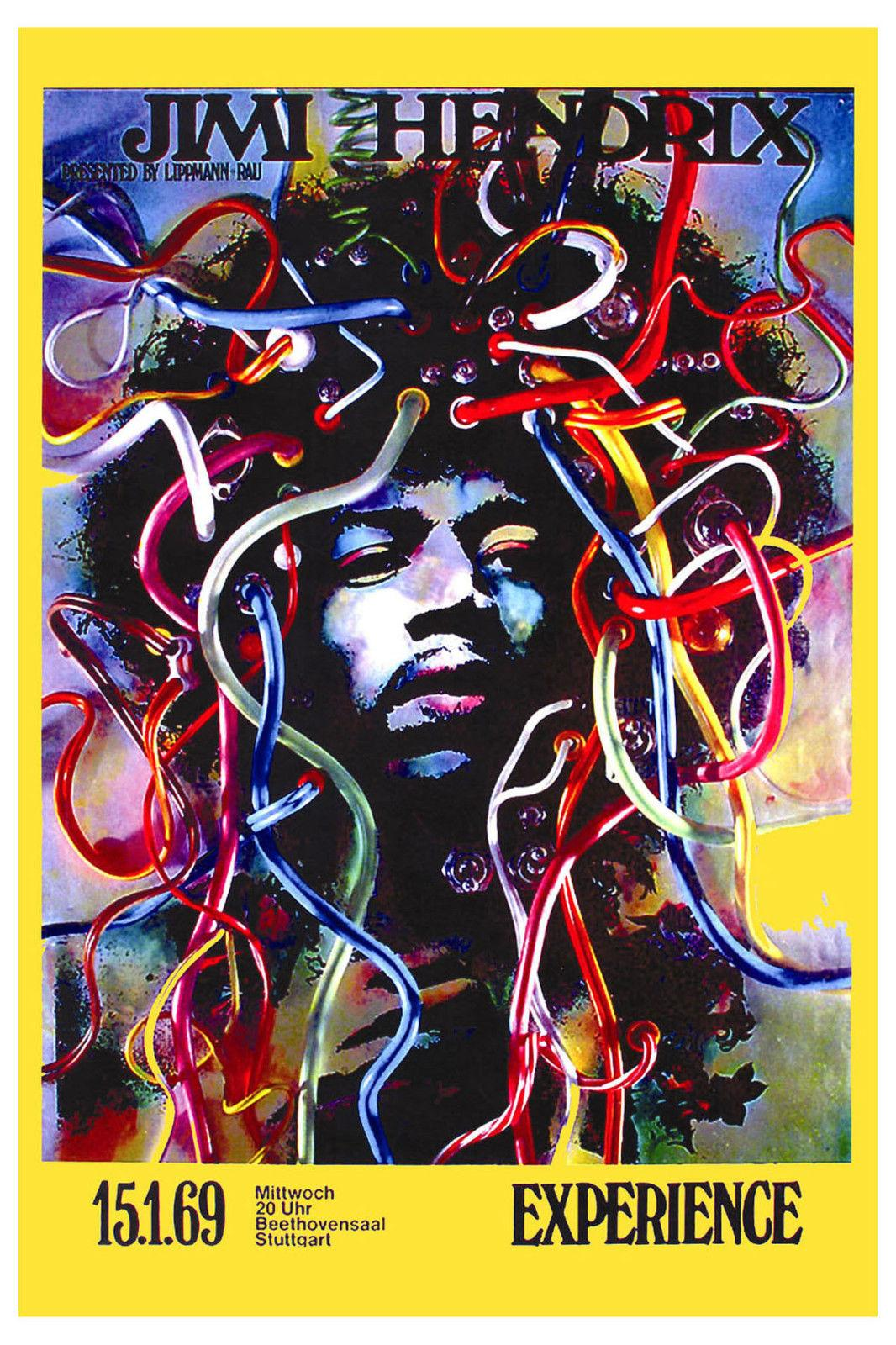 Hendrix Beautiful poster new gift silk poster custom size poster