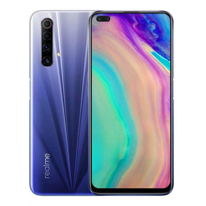 """Originale Realme X50M 5G LTE Mobile Phone 6GB di RAM 128 GB ROM Snapdragon 765 Octa core Android 6.57"""" Phone 48MP AI NFC Face ID di impronte digitali cellulare"""