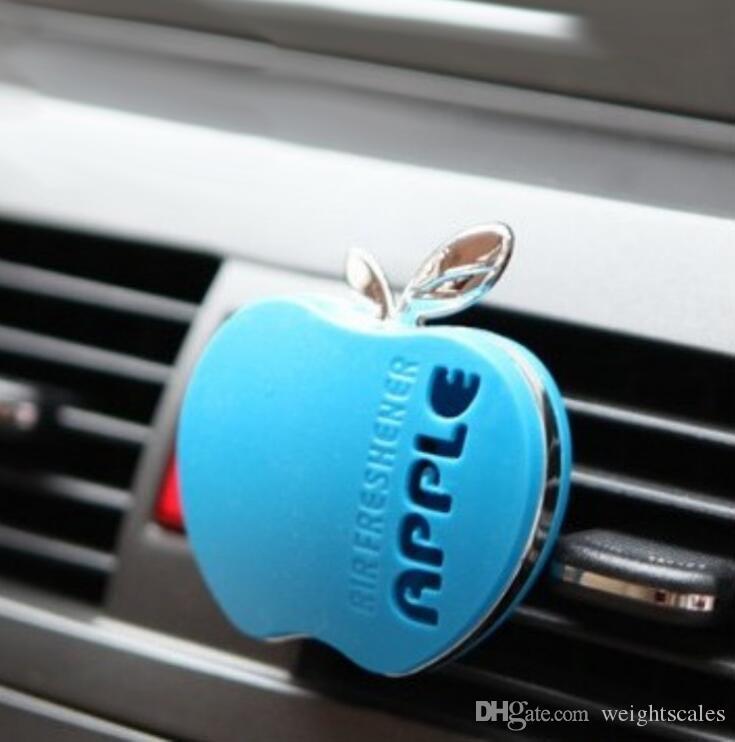 السيارات سيارة العطور سيارة الهواء المعطر العطور 30 جرام رائحة مختلفة لطيف التفاح شكل سيارة العطور اكسسوارات السيارات شحن مجاني
