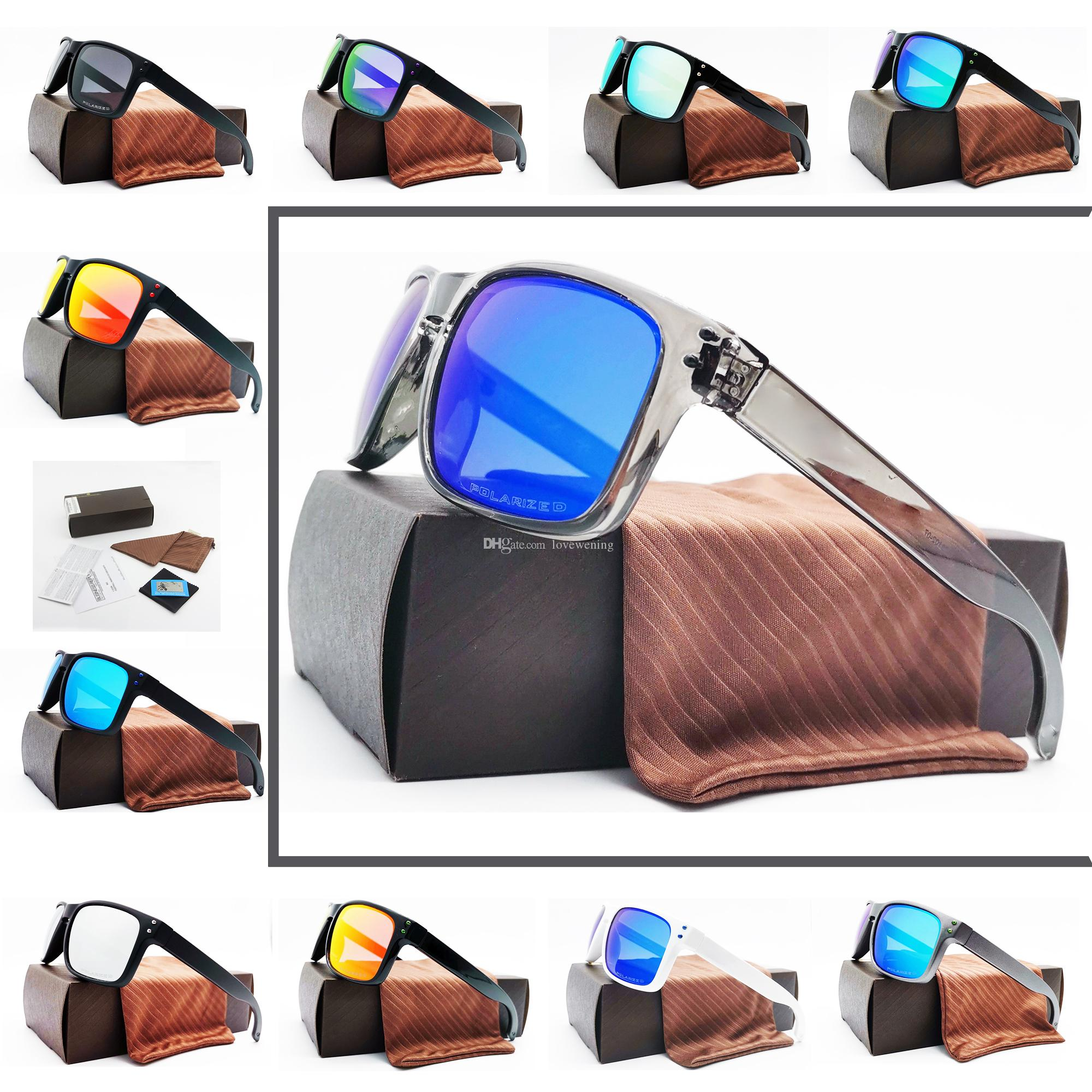 Estilo (11) sob encomenda da forma Esportes óculos de sol UV400 lente polarizada New YO91-02 alta classe de Homens New Outdoor Óculos frete grátis