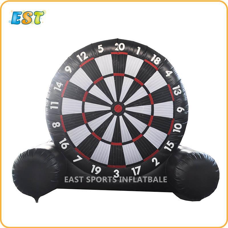 Inflatable Giant Dartboard Single Side Football Golf Foot Darts Soccer Kick Darts Board
