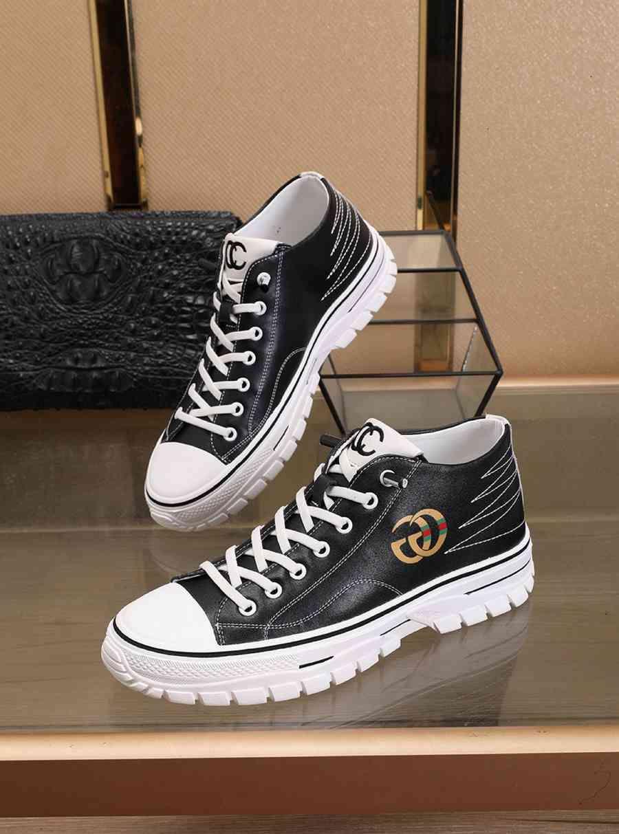 Zapatos casuales de la moda de encaje hasta la primavera y el otoño de los hombres de las zapatillas de deporte cómodas 110605