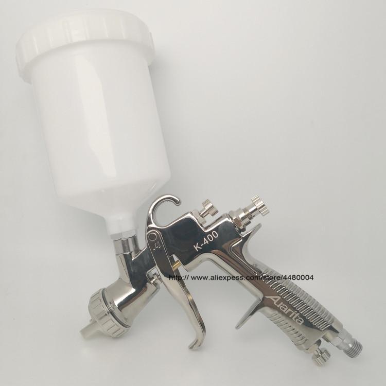 Высококачественный пистолет-распылитель к-400 1.4mm 1.7mm LVLP тяжести пистолет-распылитель 600cc чашка идеальный автомобильный инструмент