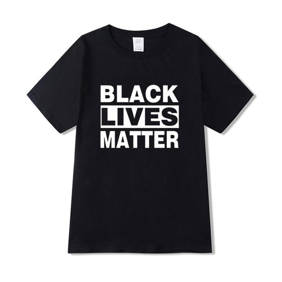 Я не могу дышать! Дизайнер футболки Мужчины Женщины Футболка Hip Hop Hip Hop Tshirt Streetwear лето Печатные Белый Черный Тис Letters Tops Off-070 # 86