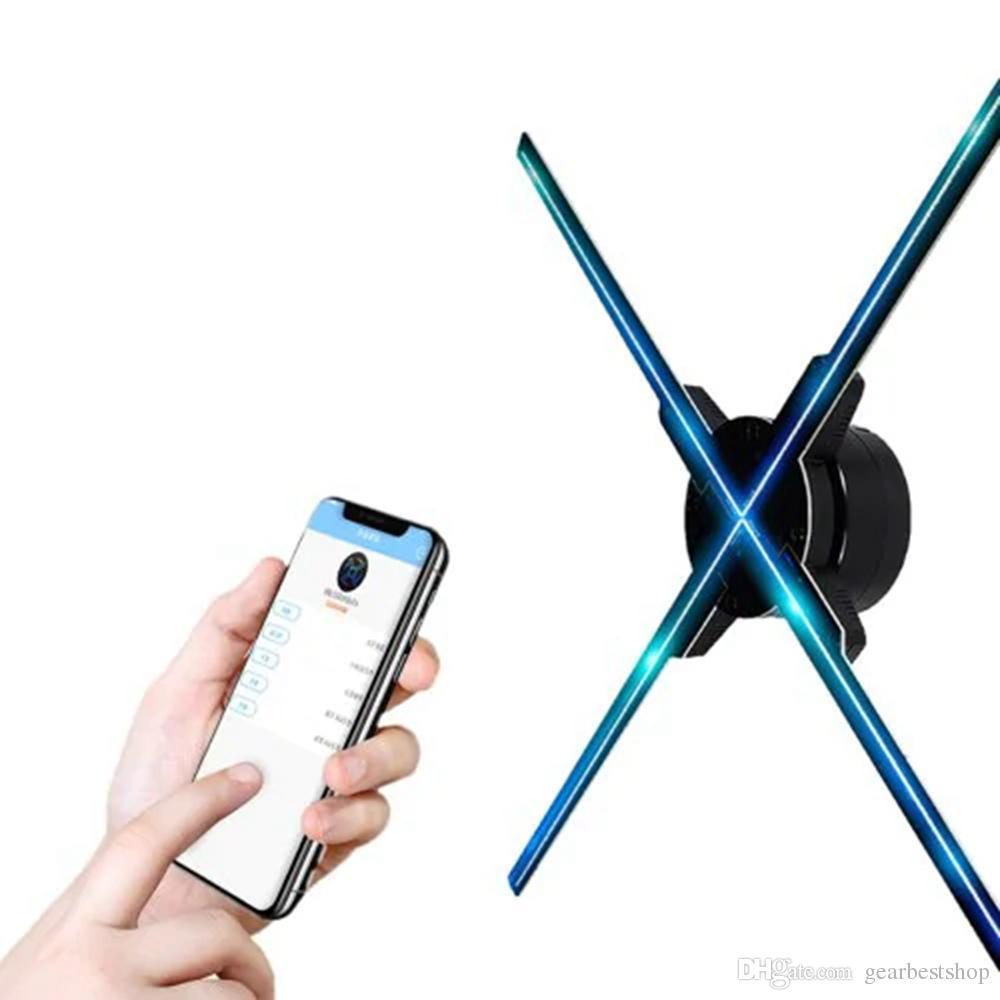 عالية الدقة 1600 × 720 HD 3D صورة ثلاثية الأبعاد الإعلان الصمام مروحة دعم الفيديو ومكبر الصوت