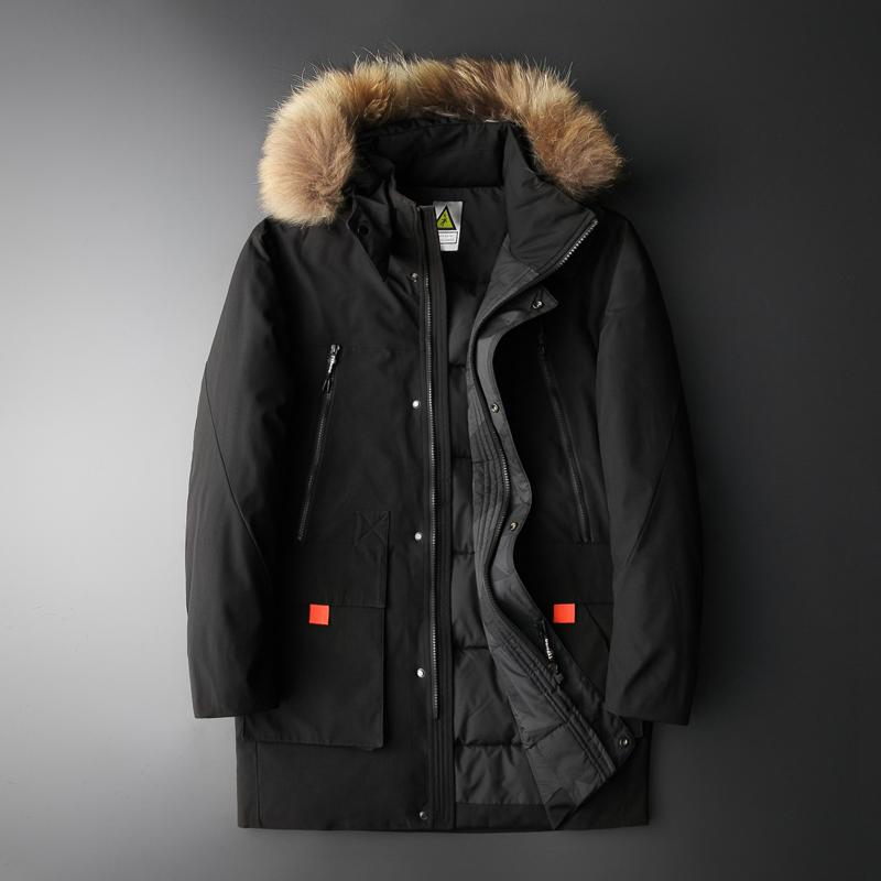 Plus Size 8XL Parkas hommes hiver Veste épais coton rembourré veste Mens capuche camouflage Parka Coat Homme Colliers Amovible