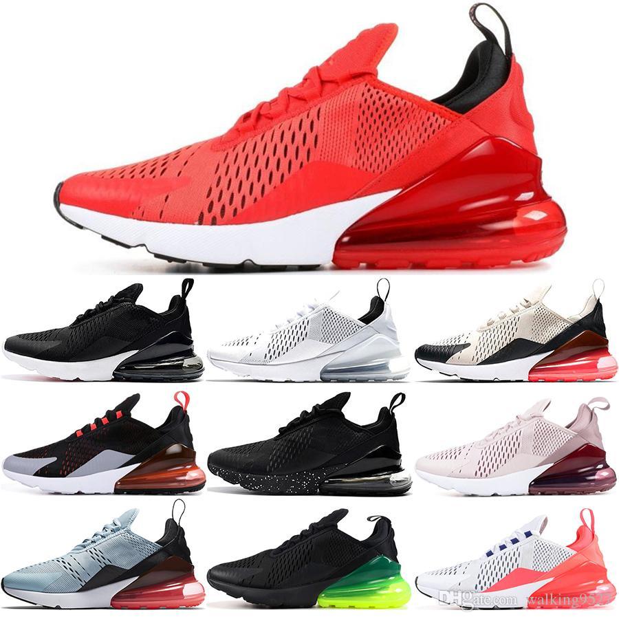 Nike Air Max 270 27C Cómodo Y Transpirable Para Hombre Zapatillas  Deportivas TFY Vibes Filipinas Habanero Rojo Hueso De Luz Rojo Triple Negro  Blanco ...