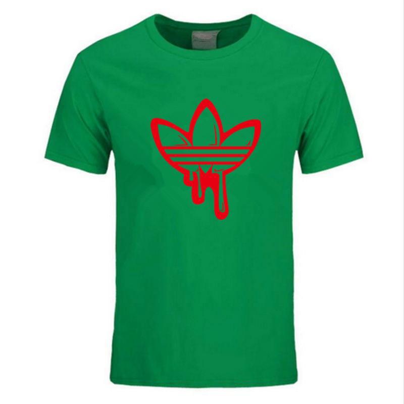 2019 Nouvel Été Coton Drôle T-shirts À Manches Courtes T-shirt MenO-Neck Tide Marque Design Imprimer T-shirt Rouge Hommes Tops T-shirts