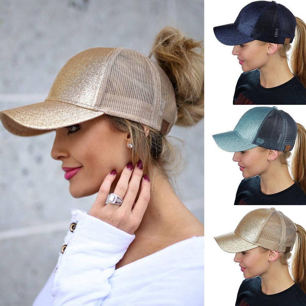 Casual Cap Net esterna del cappello di Sun di sport delle donne colorato berretto da baseball con Fashion design liscio visiere dei cappelli