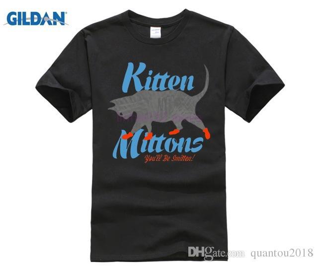 It's Always Sunny in Philadelphia KITTEN MITTONS Adult T-Shirt Men's Shirts Men Clothes Novelty Cool