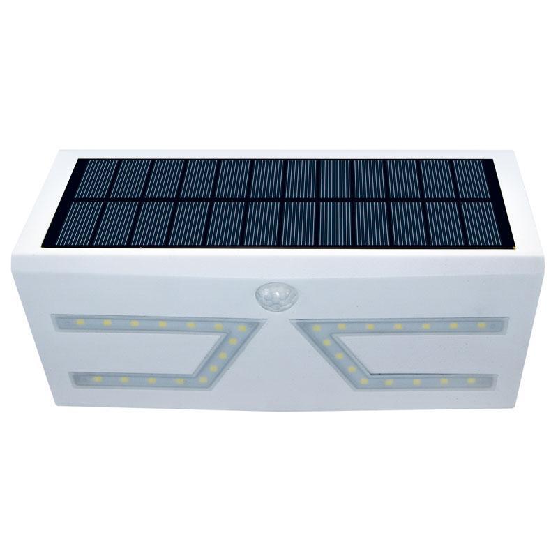 YENİ SICAK Güneş duvar lambası IP65 günş Güneş Işıklar Dış Mekan Güneş hareket sensörü ışıkları