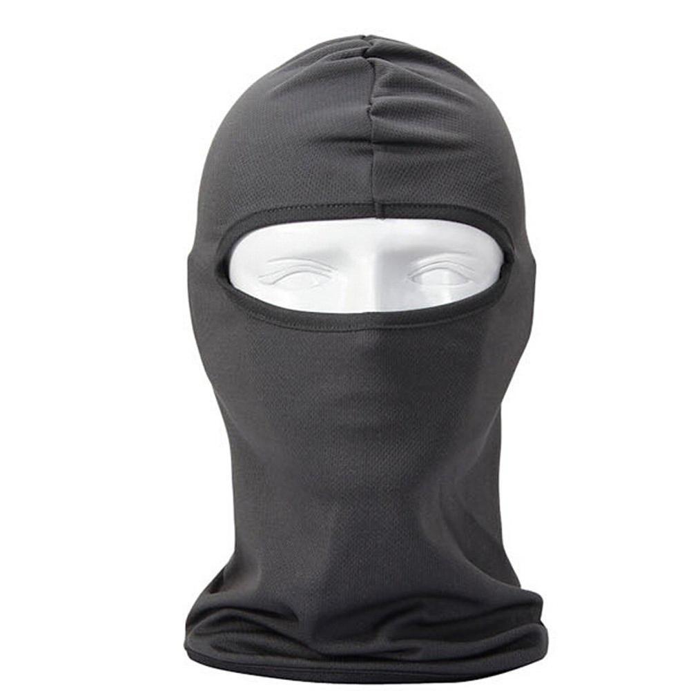 Многофункциональный бандана / Cap для велосипеда / Hood Устойчив Face Mask ветра и пыли для спорта на открытом воздухе, путешествия Грея