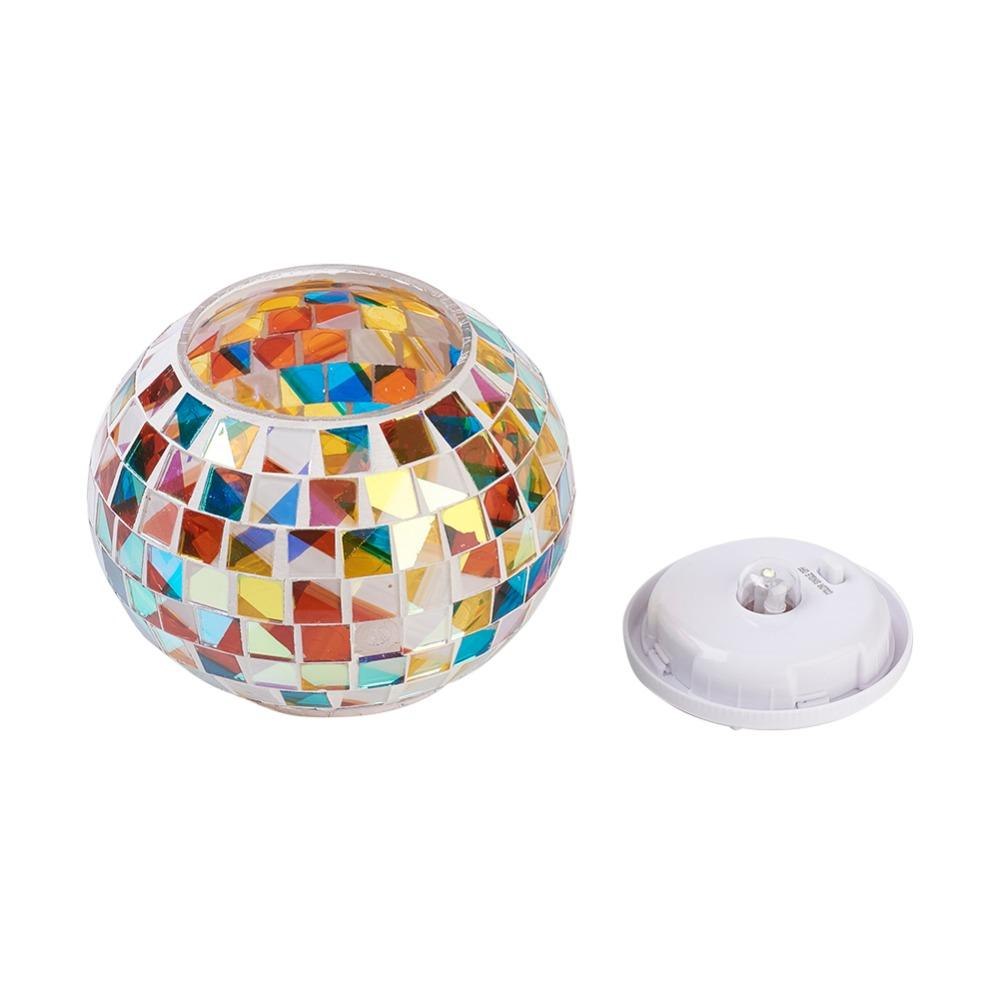 Color Changing Solar Table Lamps for Festival Gifts Indoor or Outdoor Decorations Auto Interior Atmosphere Light