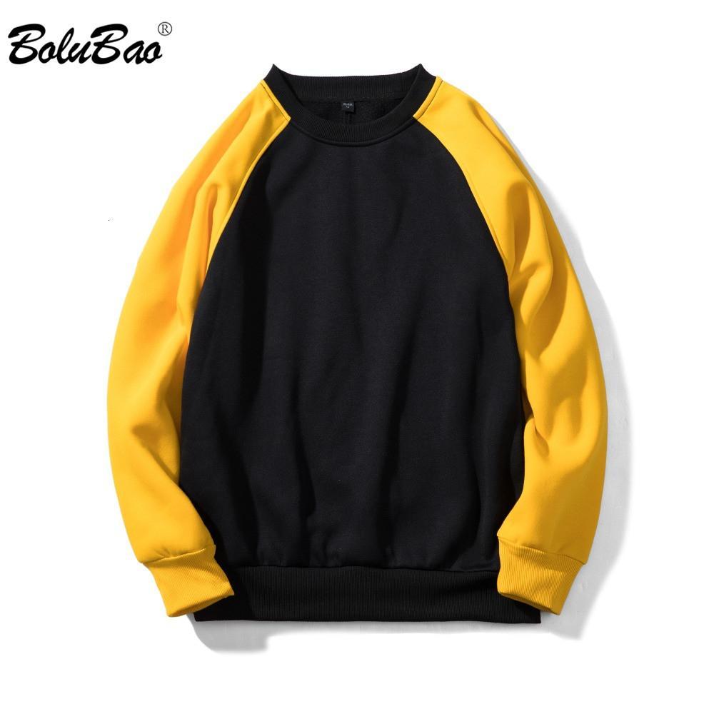 BOLUBAO Marken-Mann-Sweatshirt Mode für Männer Qualität Sport EU-Größe Male Street Pullover Männer Pullover Sweatshirts EU-Größe V191025