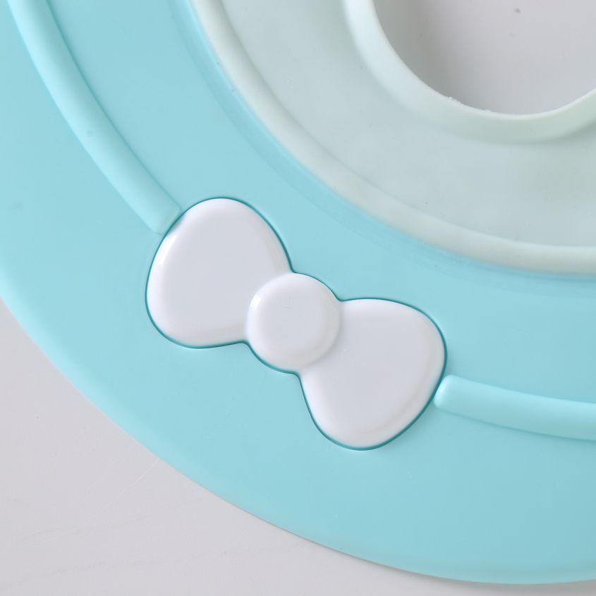 Enfants Shampooing Cap imperméable Cap silicone haute élastique Épaississement Protection Plus Oreille réglable Shampooing Enfant Artifact