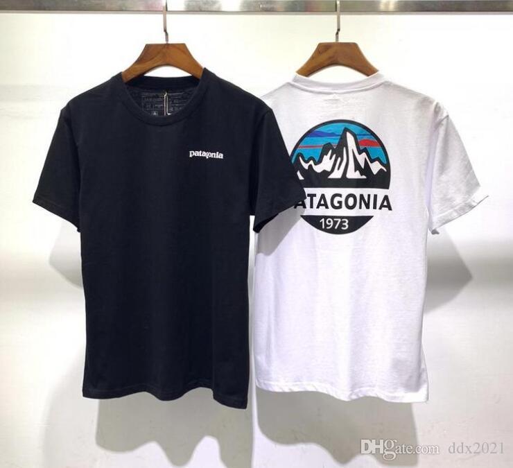 7 цвет бренд футболка patagonia футболка рукав тройник дышащий Мужчины Женщины мода мужчины женщины футболки