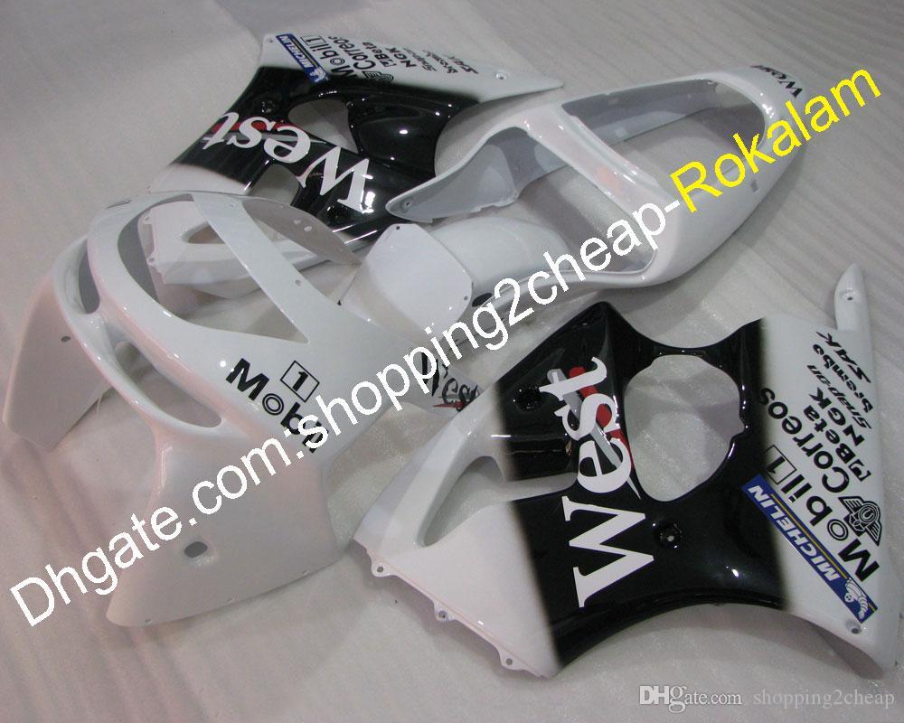 Mode ZX6R 636 Carénage Kit pour Kawasaki ZX6R 98-99 ZX6R 1998 1999 Sportbike après-vente Body Kit Moto Fit