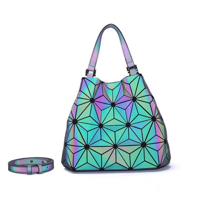 Kxybz 3Pcs brevetto cuoio di lusso borsa delle donne della borse del progettista marca famosa Borse di Tela spalla Laser pochette Imposta J190712 # 326