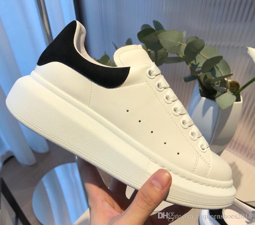 Casual Shoes Mulheres Homens Sneakers Oxford vestido de couro sapatos de lazer Rua Melhor Chaussures Trainers Andar Plataforma na moda