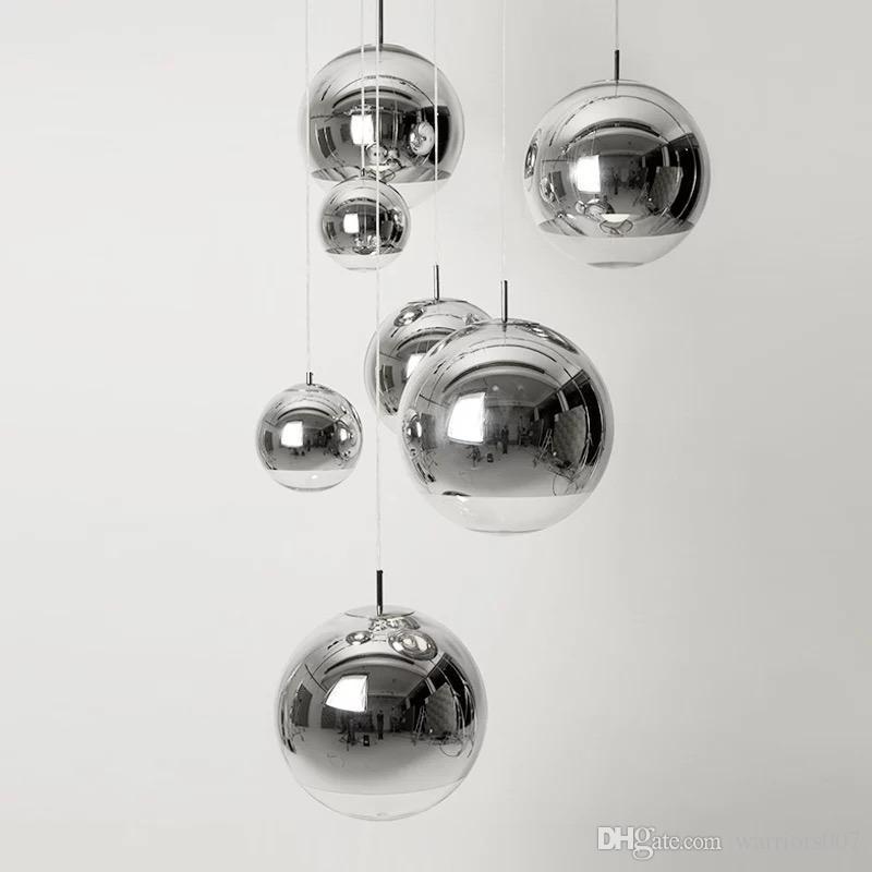 العالم الزجاج الكرة شنقا قلادة فقاعة ضوء حلزوني غرفة المعيشة الديكور الحديثة مصباح درج أدى السقوف العالية