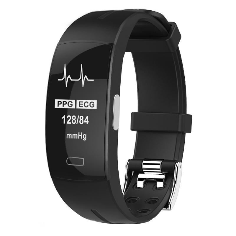 KAIHAI H66 ضغط الدم المعصم الفرقة القلب رصد معدل PPG ECG سوار الذكية Activit اللياقة البدنية تعقب الالكترونيات معصمه