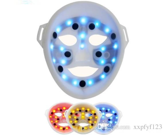 high quablity LED mask photon skin rejuvenation instrument beauty mask color mask beauty equipment tricolor phototherapy 3D masks CZ109
