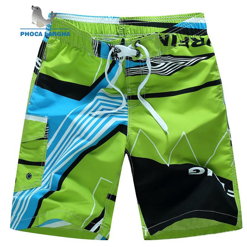 New Men's Board Beach Short Full Sub Print Swim Shorts Pants Bottoms Quick-Dry Summer Surf Men Boardshorts Plus Size M-6XL
