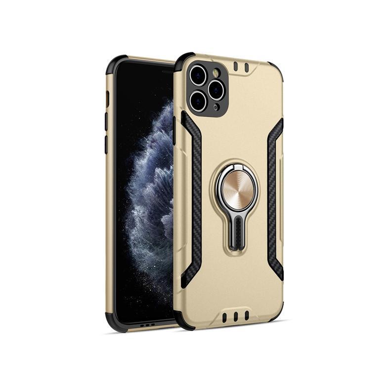 Hot ofertas suporte de rotação suporte invisível caso do telefone móvel magnética para iphone 11 pro Sam S20 iphone 11 Pro Moto G7 powe LG stylo 5