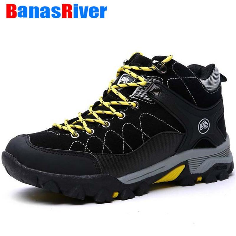 2020 invierno de la piel de los hombres cargadores calientes Zapatos de la nieve calzado de moda caucho tobillo masculinos zapatillas de deporte al aire libre Deporte Formadores pie calzado