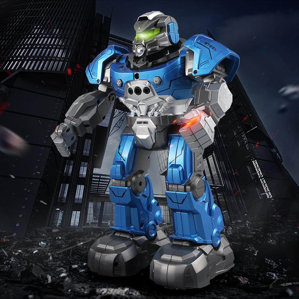 JJR / C RC Robot R5 CADY WILI robô inteligente controle remoto programável Auto Siga Gesto Sensor Dance Music Toy presente para crianças