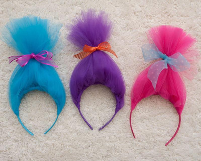 Party Hairbands Hair Hoop Cosplay peluca para niños niñas vestuario de pelo Accessiores Girl Head Bands para Halloween