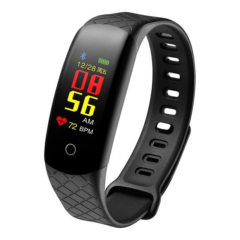 CB608 Smart Bracelet Bluetooth TFT screen Music Health Waterproof Heart rate, Blood pressure test Multiple sport mode Remote control camera