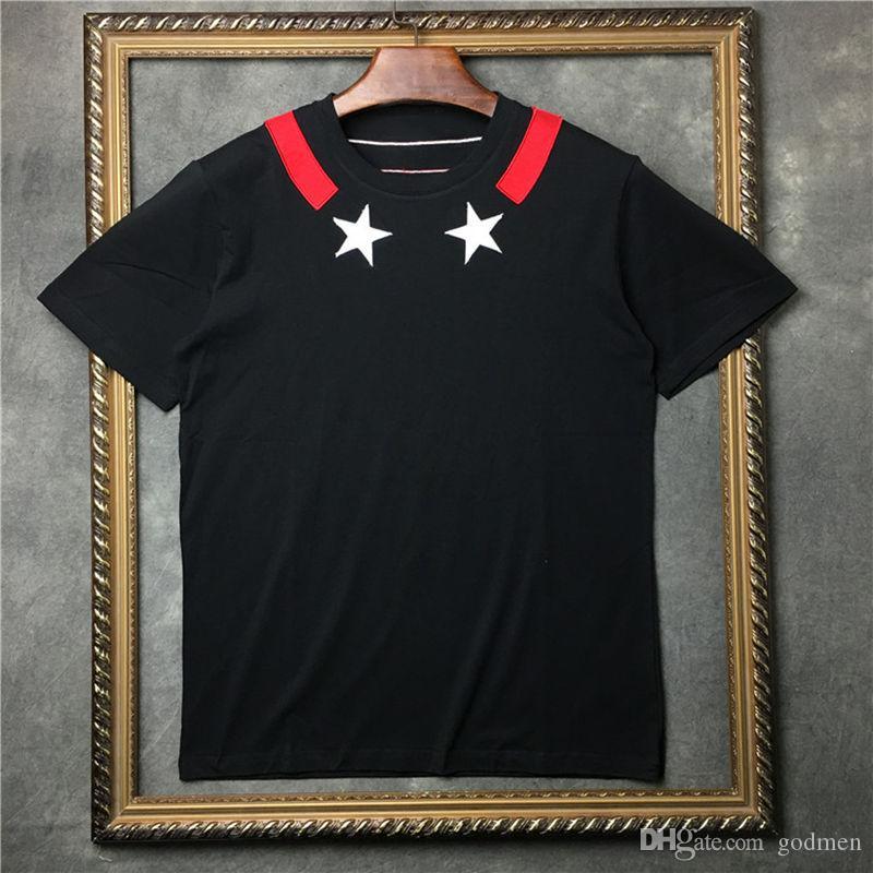 رجل المصمم T قميص رجل إمرأة T شيرت الهيب هوب الخماسي قصيرة الأكمام الصيف T قميص حجم S-XXL
