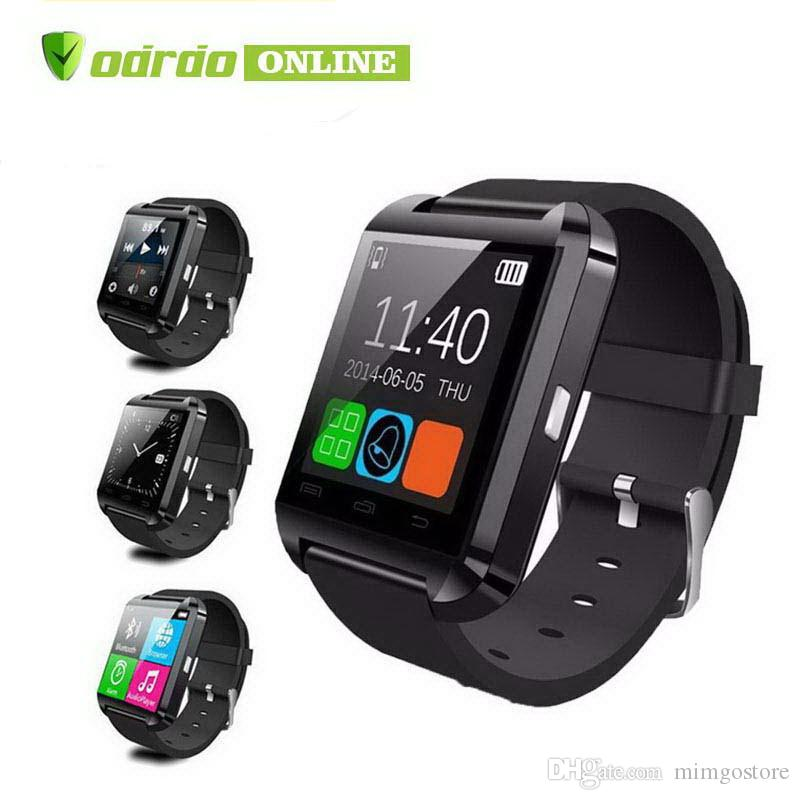 SmartWatch U8 بلوتوث U8 ساعة ذكية ل IOS IPhone IPhone 4 5S 6 Samsung S4 Note 3 HTC Android Windows Ios Phone Smart Band