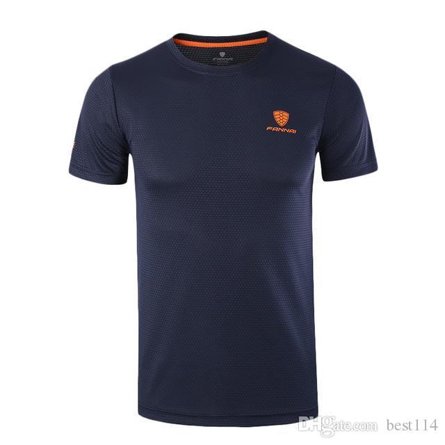 Sport Shirt Men Tops Tees Running Shirts Mens Gym t Shirt Sports Fitness Jersey Quick Dry Fit camiseta running hombre