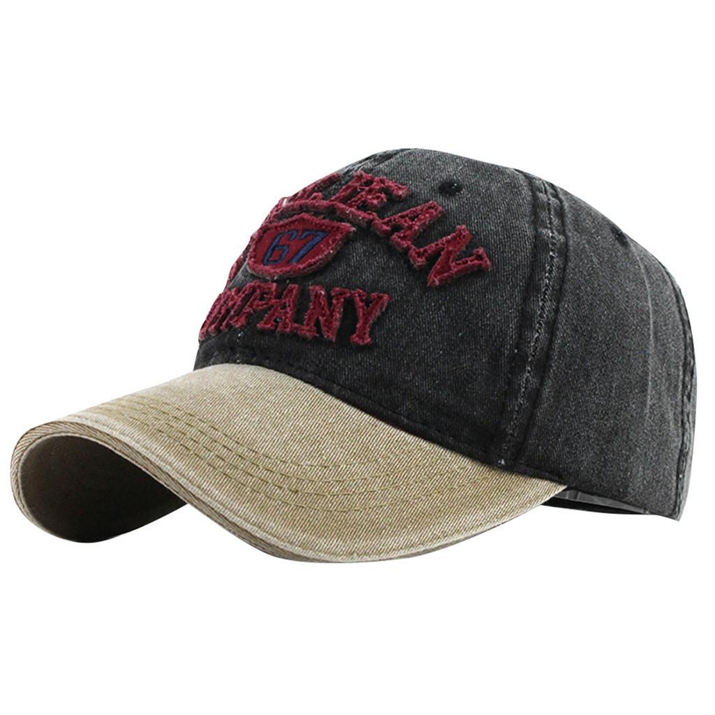 Moda Beyzbol Şapkası kadın erkek Pamuk Ayarlanabilir Günlük yaz İşlemeli Harf AFNYEANCUMPANY snapback Şapka #pingyou