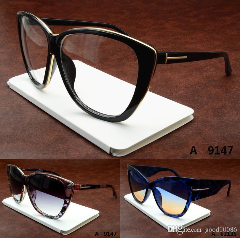 Marca de moda de Luxo UV400 marca Design tamanho Grande mulher óculos de Sol óculos de Olho de gato de Metal ouro Rodada clássico logotipo Feminino de Viagem de Condução