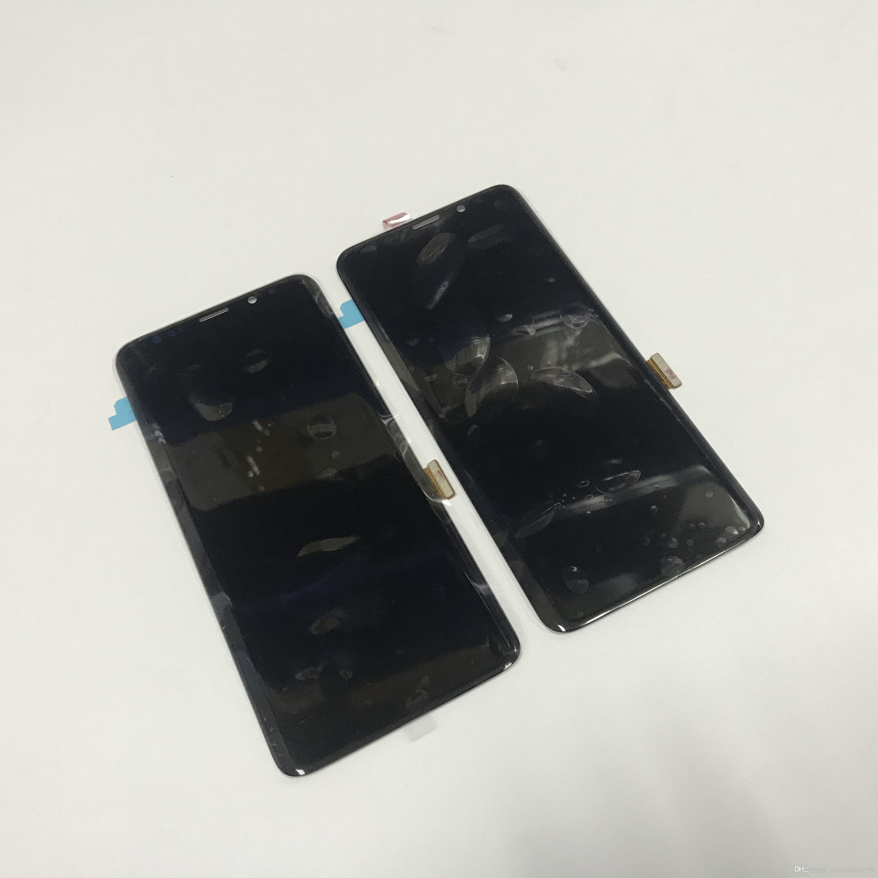 Samsung Galaxy S9 / S9 Artı G960 G965 Orijinal LCD Ekran Dokunmatik Ekran Digitizer Meclisi
