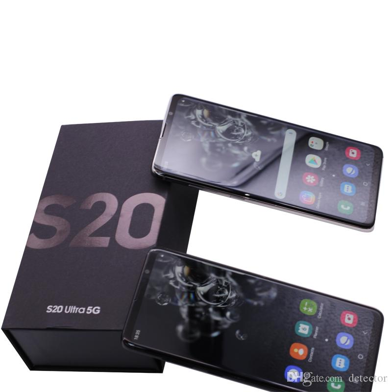 New arrival High Quality Goophone S20 Plus S20+ 1G Ram 16G Rom 6.7Inch Screen Display Smartphone can shown 4G real 3G Mobile Phone