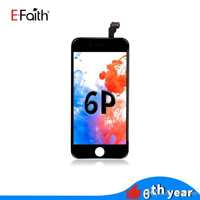 العرض LCD EFaith لمدة 6 فون زائد 5.5 بوصة شاشة LCD قطع غيار والتي تعمل باللمس محول شحن مجاني