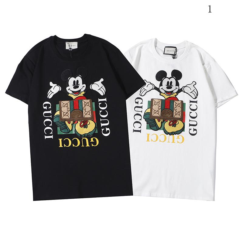 Männer Frauen Luxus Shirts Sommermens beiläufige Designered T-Shirt Short Sleeve Top T-Shirts Hip Hop Herrenkleidung 2020303K