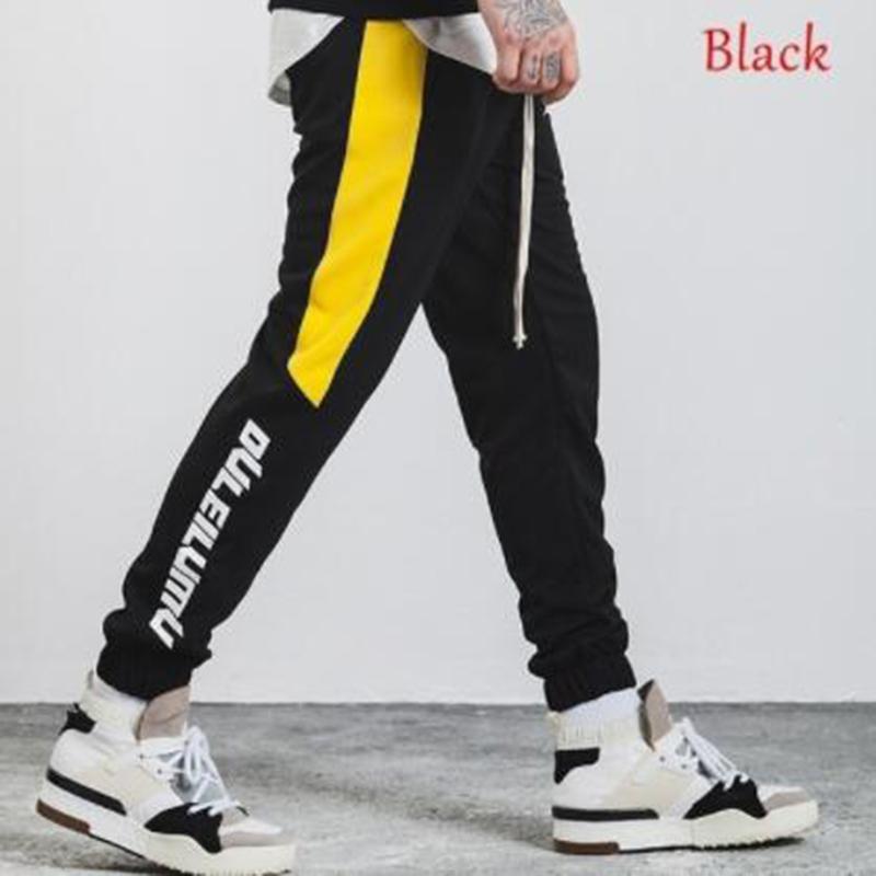 ZOGAA 2019 Homens Calças De Corpo Inteiro colaterais listra impressos Calças Mens Joggers Sportswear Fitness Gym Pants masculino Vintage Sweatpants Y200116