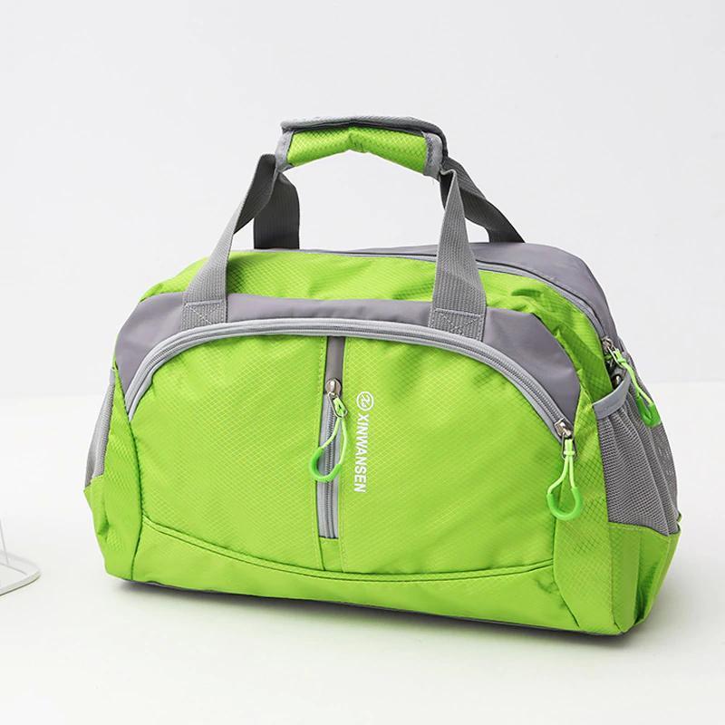 Gros-2018 Nylon professionnel étanche Sports Gym Sac femme Hommes pour le Fitness Fitness formation épaule Sacs à main Voyage Yoga Bag Bagage