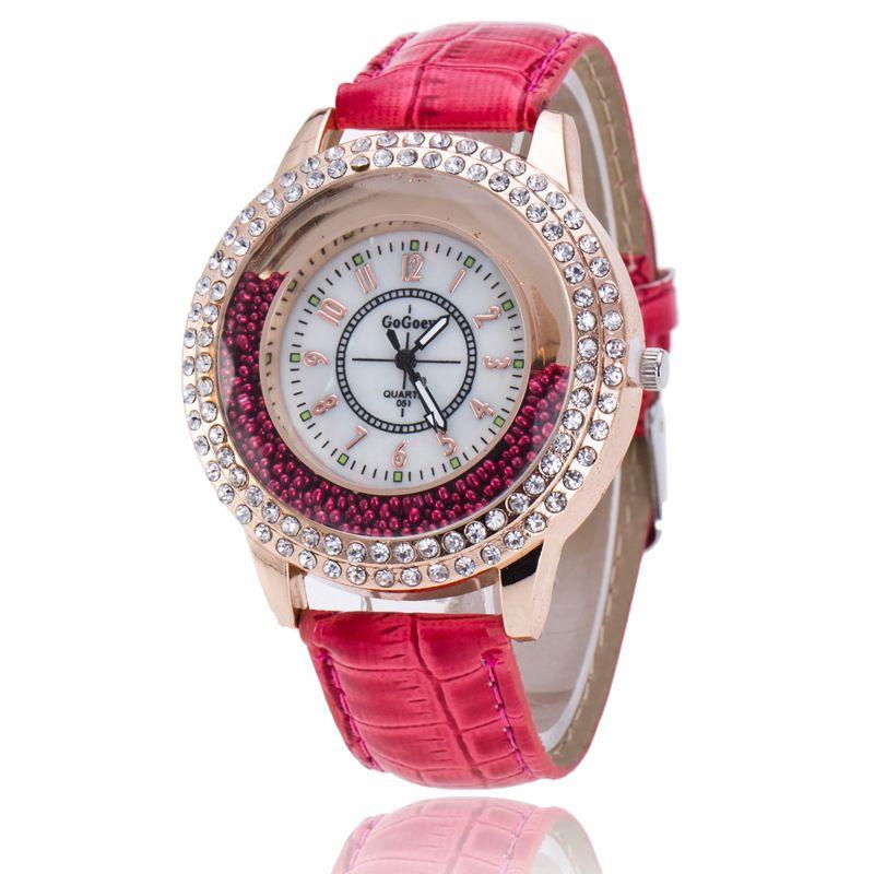 Nuovi arrivi limitata nel tempo Big Sale signore orologi realizzati da donna pieno di diamanti modelli femminili sabbie mobili diamante quarzo signora femminile