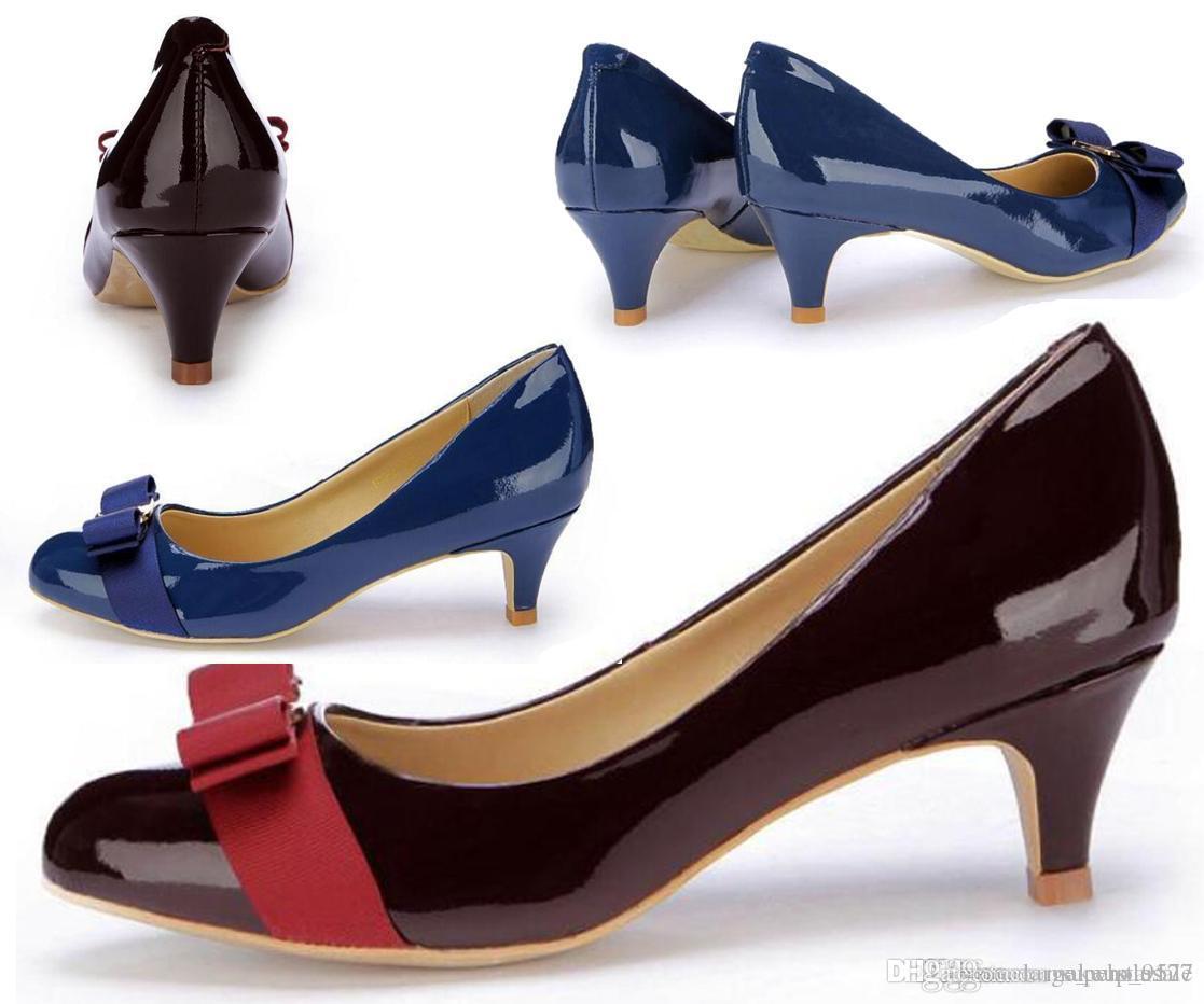 Flats Ballet Shoes Mulheres salto baixo genuíno casamento do couro sapatos de mulher saltos de couro Bombas Chaussure Femme Zapatos Mujer