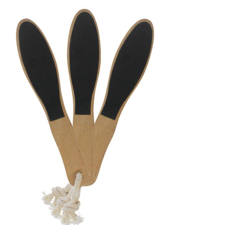 الخشب القدم الجلد القدم نظيفة النظيفة الصلب مزيل الجلد باديكير فرشاة أدوات صحية مزيل الجلد الميت قدم الرعاية