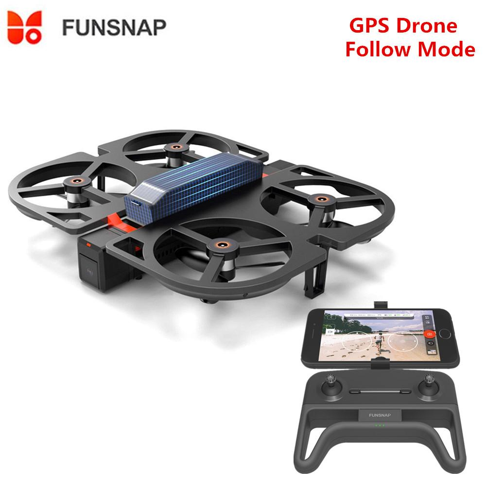 Funsnap IDOL AI لفتة إيماءة WiFi FPV مع 1080P HD كاميرا طوي RC GPS بدون طيار quadcopter RTF 3006402C7