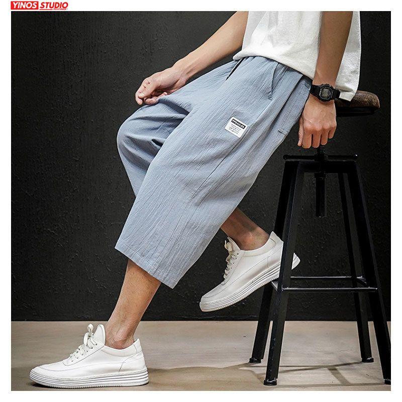 Dropshipping 2020 Moda cintura elástica de los hombres coloridos de verano Impreso Pantalones cortos Pantalones Casual Male coreana cortos 5XL pantalón Y200623