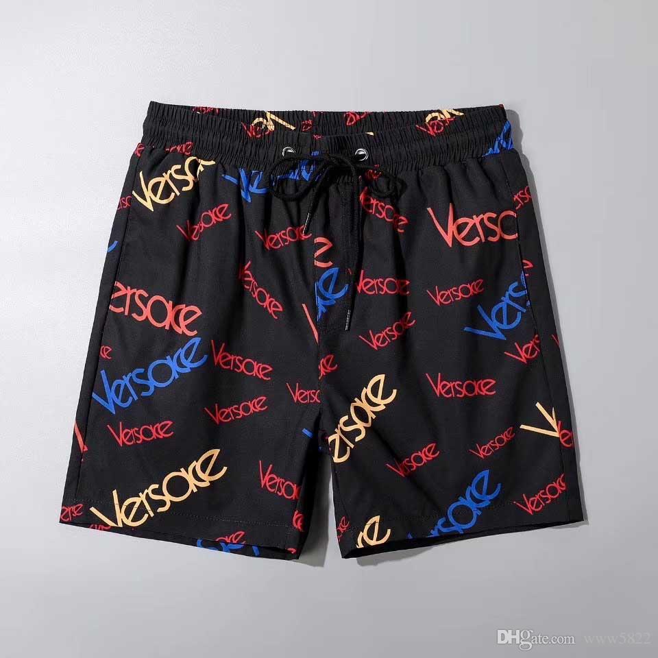 2020 Esplosione Coast Beach Pants degli uomini adatti moda della banda della stampa Consiglio Swimwear degli uomini pantaloncini da uomo di shorts di nuotata estate del Quick-Dry Pantaloncini